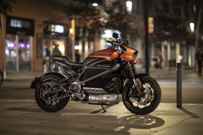Elektromos Harley-Davidson® LiveWire™ modell Milánóból