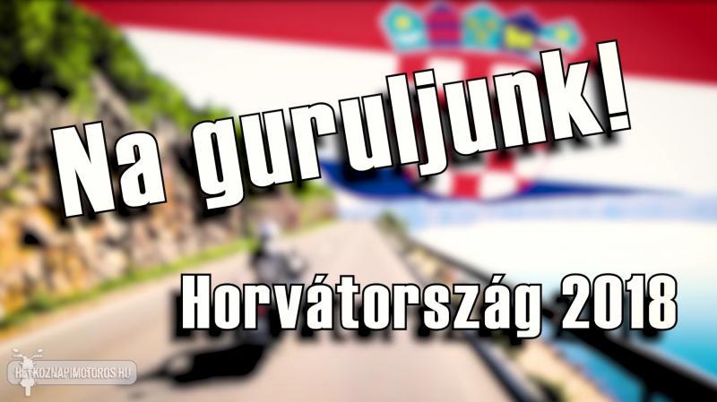 Hétköznapi motoros - Horvát motoros túra