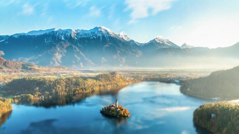 Szlovénia páratlan szigete - Bled