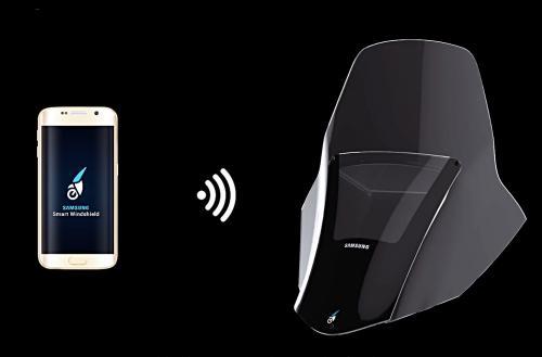 Okosszélvédőt fejlesztett a Samsung és a Yamaha