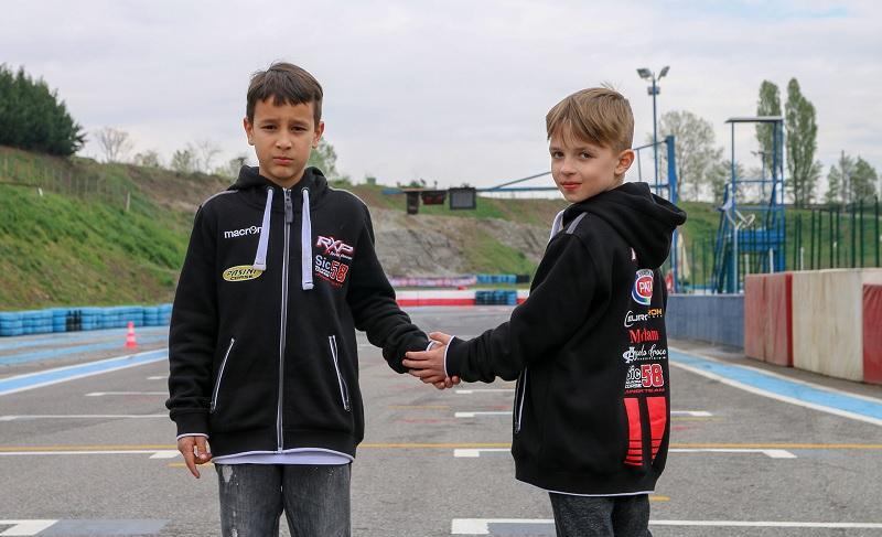 Bereczki Dávid és Kecskés Tamás megkezdték MiniMoto-s bajnoki szereplésüket