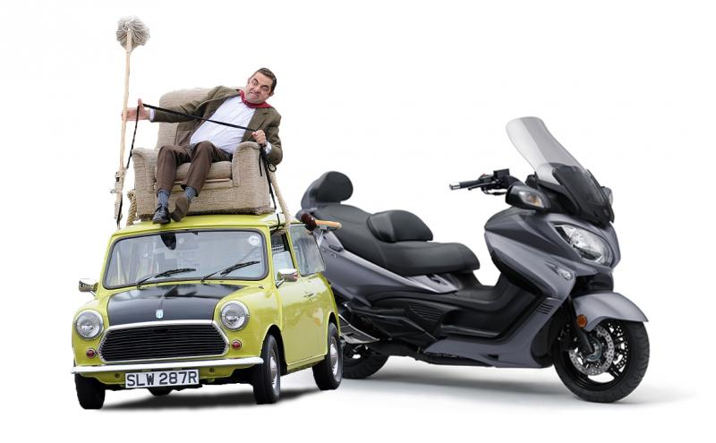 Suzuki BURGMAN 650 Executive – Luxus és dinamizmus gombnyomásra