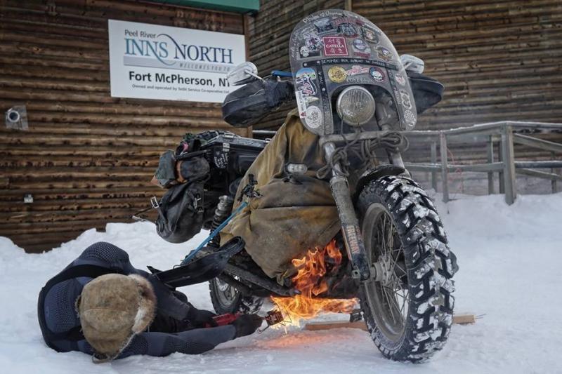 Motorral Szibériába? Mikor, ha nem télen!