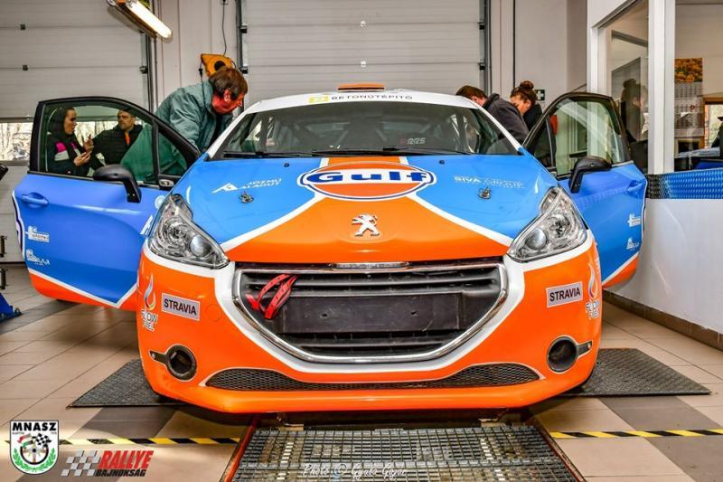Öröm és megtiszteltetés: Rally autók a Laller Carban