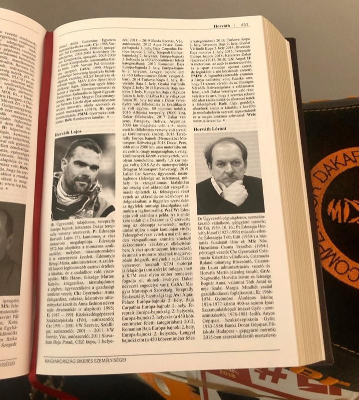 "Megjelent a British Enciklopédia – Horváth Lajos ""Laller"" is helyet kapott benne"