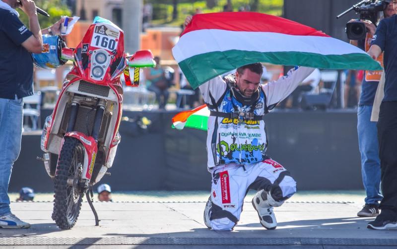 """Horváth Lajos – """"Nagyon különleges volt az idei Dakar"""""""