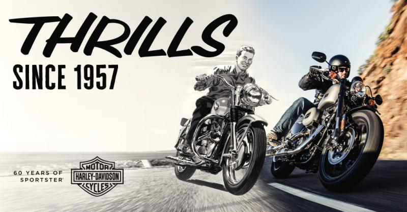 Harley-Davidson Sportster – megborzongtat 1957 óta