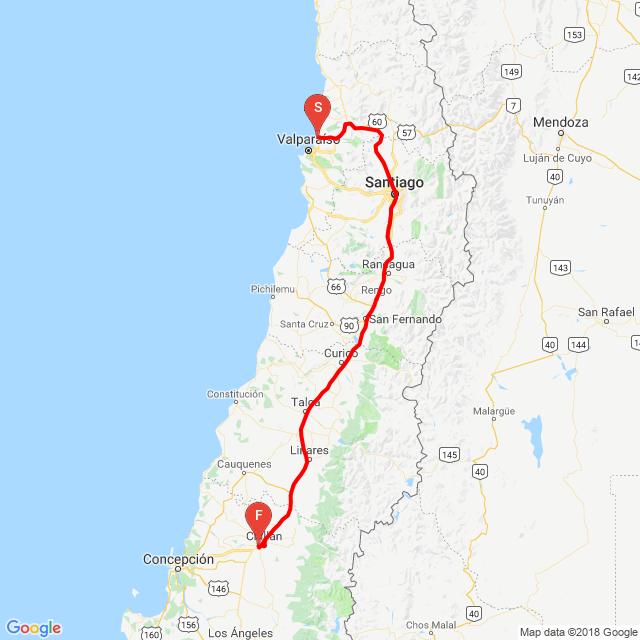 Concon a Chillán