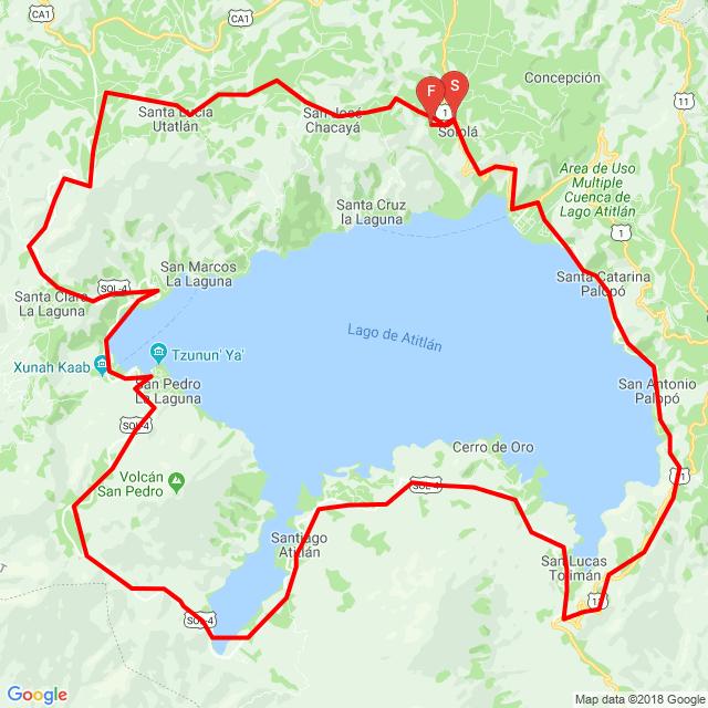 vuelta al lago 22-12-2018