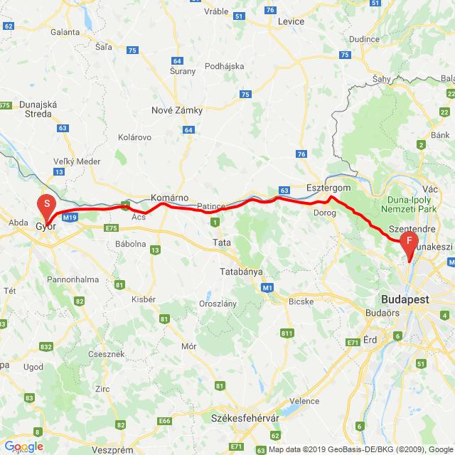 Győr - Bp