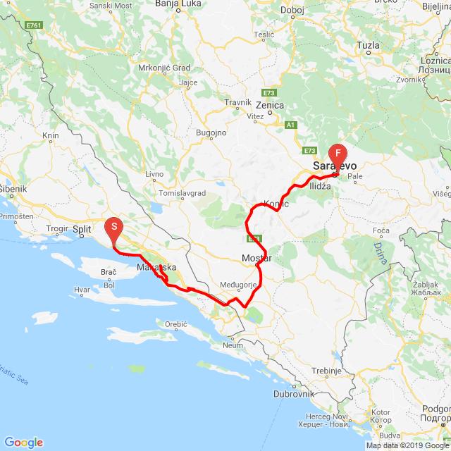 20190503_Omis-Makarska( Sveti Jure)-Mostar-Szarajevo