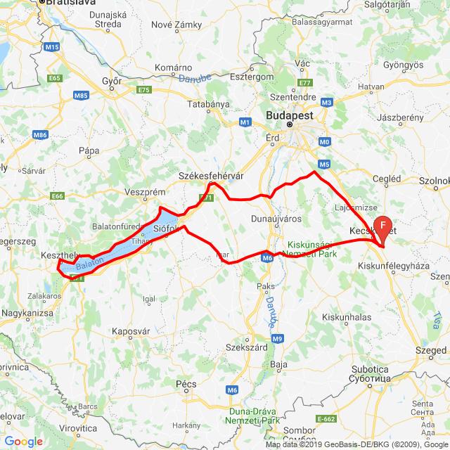 2019 Balaton kerülő túra