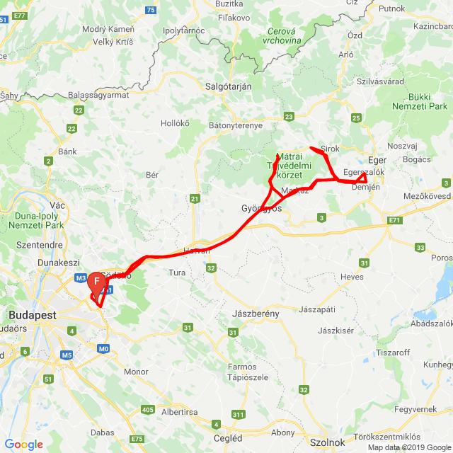 20190518_Mátra túra / Verpeléti éjszaka