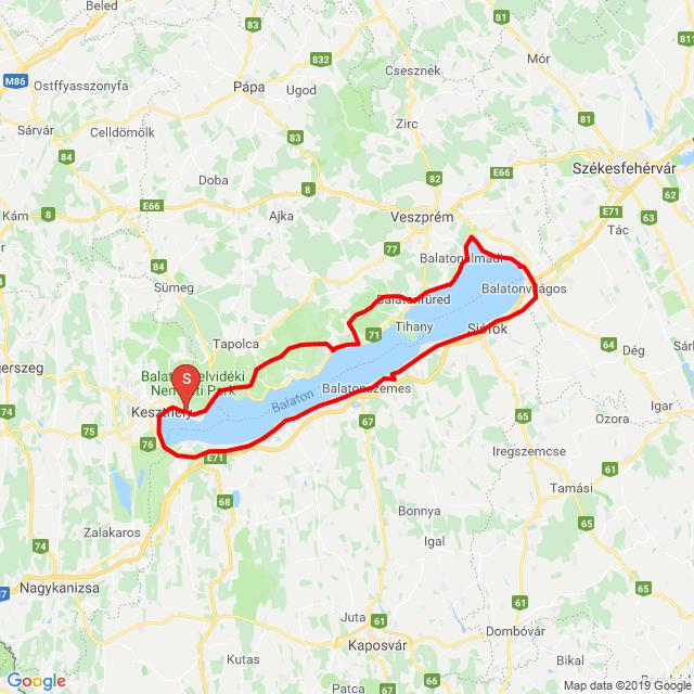 20190525_Balaton kerülő a Hondásokkal