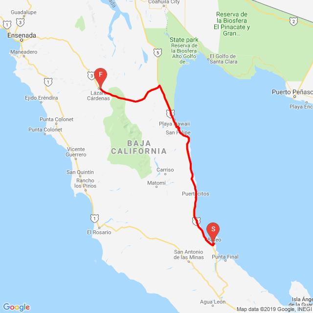 20190521_Punta Bufeo to Lazaro Cardenas
