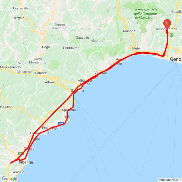 01/06/19 Genova Villanova Albenga Genova