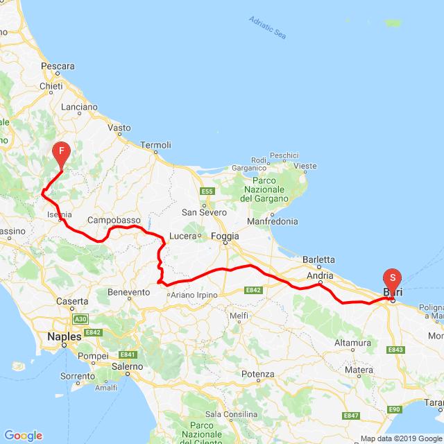 20190613_Montenegró túra 4.nap Gamberale (Italy)