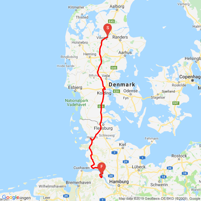 20190625_Day 32 -Denmark to Germany 402 km