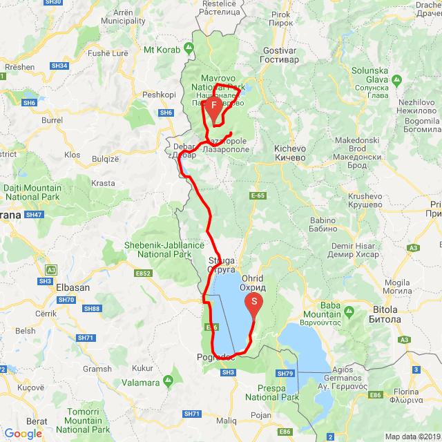 20190626_Ohrid to Galichnik