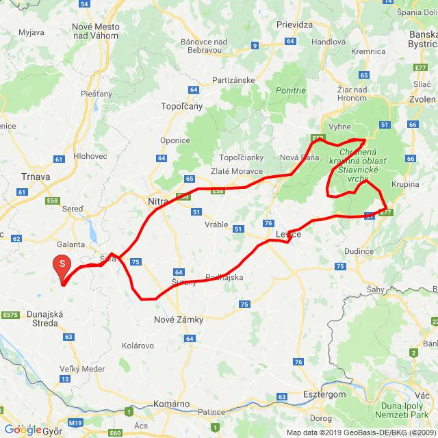 Banská Štiavnica- Štiavnické Vrchy
