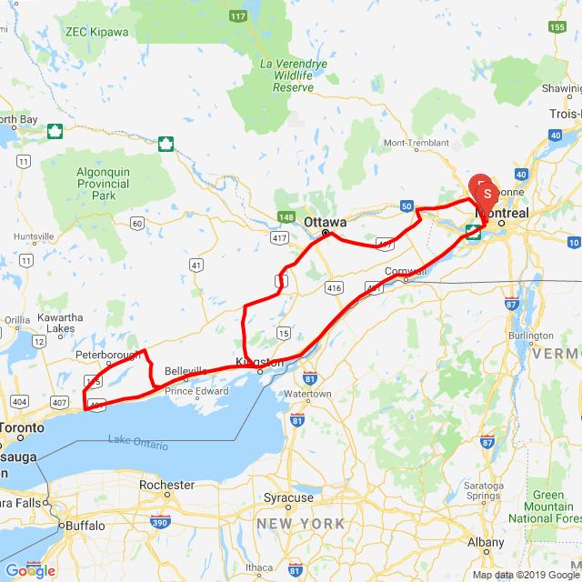 Seat Burner, 1000 km ride