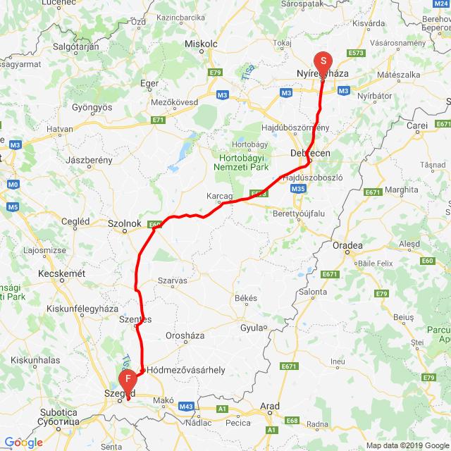 Magyar túra 1. nap