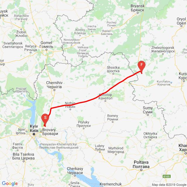 Bohdanivka - Khomutovka/za tú hranicu/