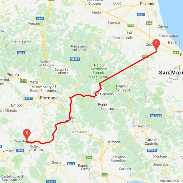 San Gimignano-Cesena