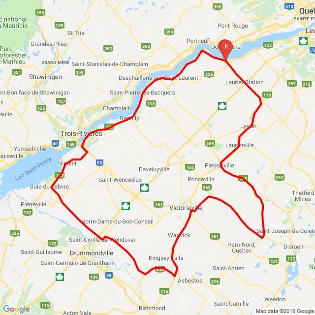 Escapade centre du Québec 2019