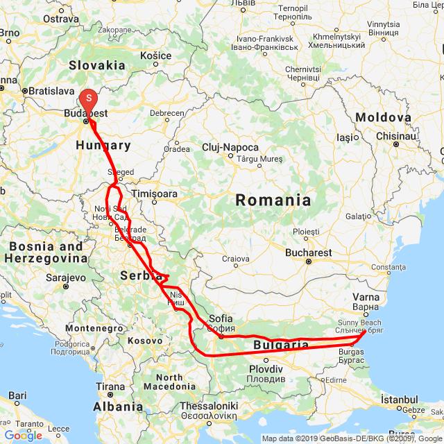 20190815 Bp-Szófia-Neszebar-Belgrad-Bp