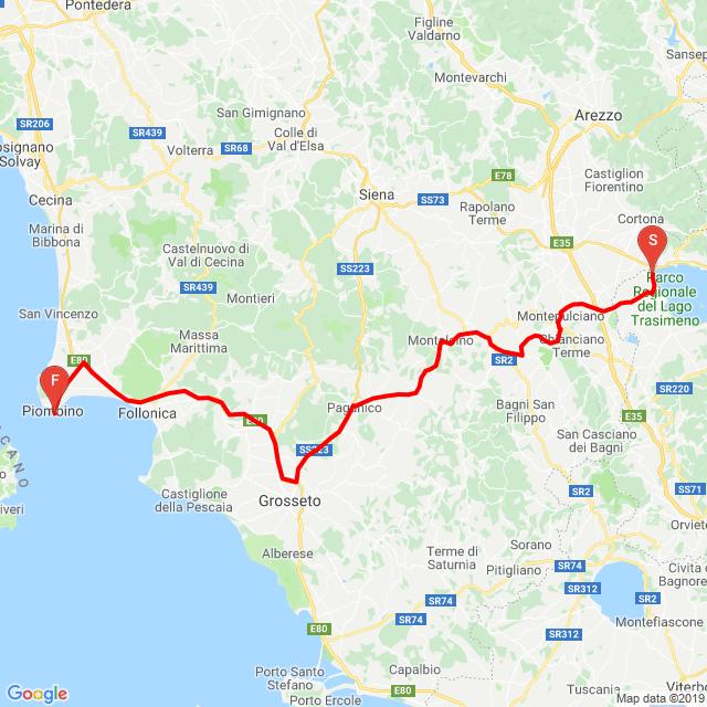 Át Toszkánán.... 20190825