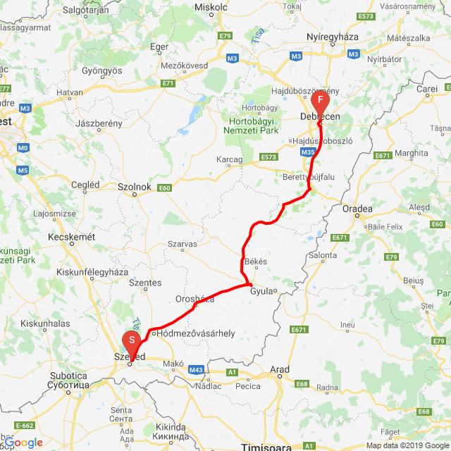 Szeged - Debrecen