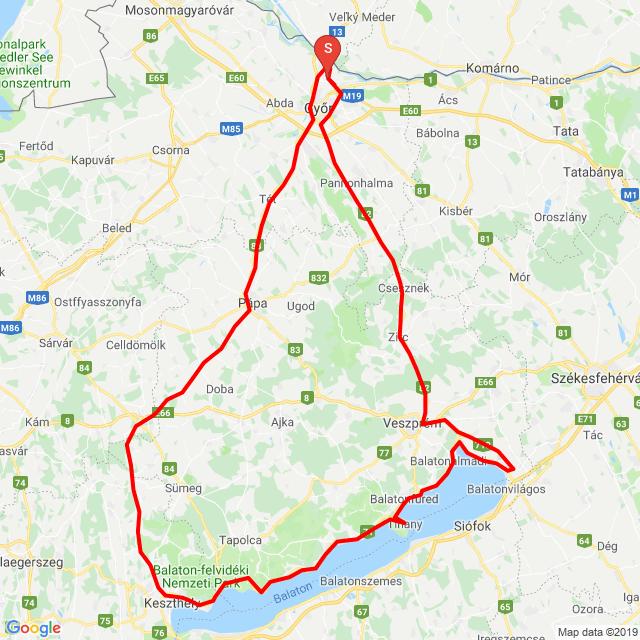 Balaton tour 2.0