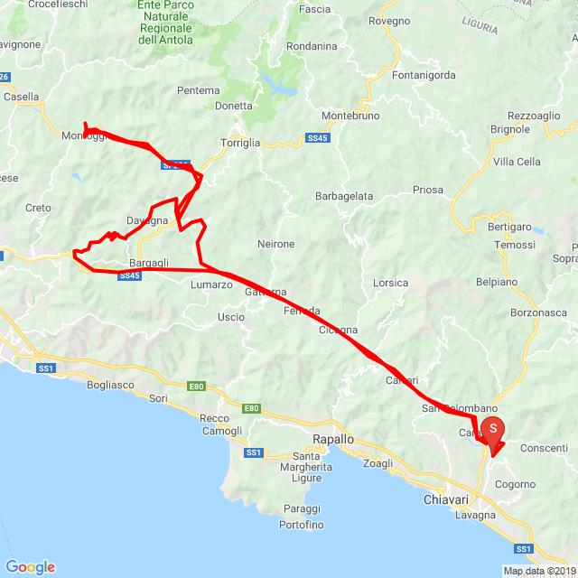 20190921_Cogorno - Ferriere - Boasi - Davagna - Montoggio - Davagna - Capenardo - Genova