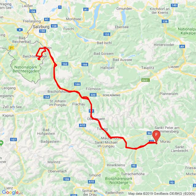 20190922 Kreischberg-Berchstesgaden-Kreiscberg Túra