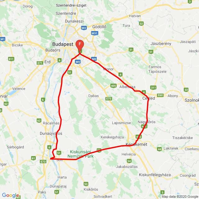 20200426 Cegléd-Dunaföldvár