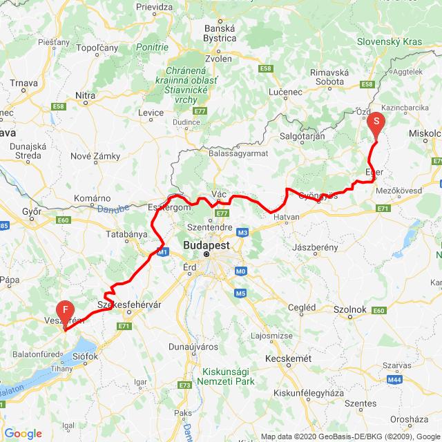 20200510 Szilvásvárad-Veszprém