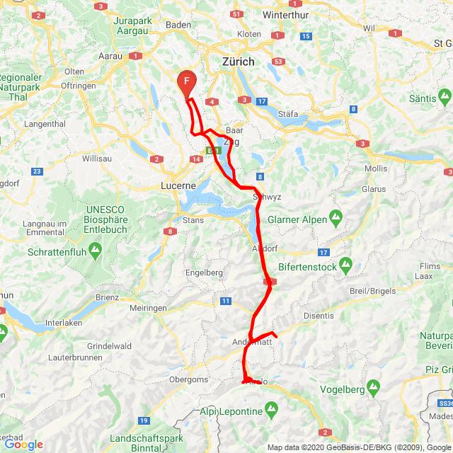 Muri-Gotthardpass-Oberalppass