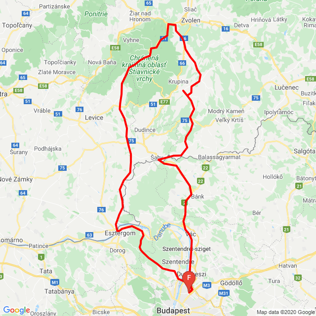20200527 Bp-Esztergom-SK-Sahy-Bp