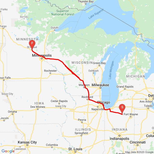 West Trip Day 1 2020
