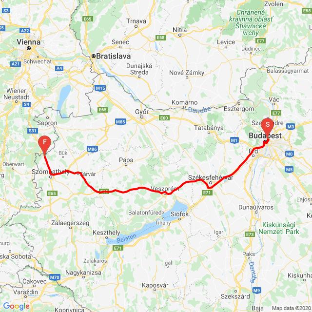 budapest-koszeg - 8as ut fele