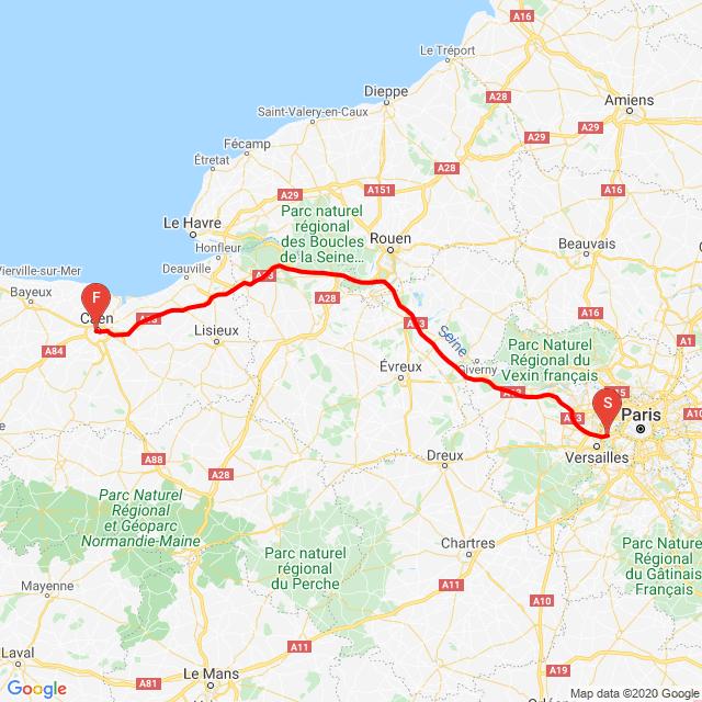 20200727 Paris -> Caen