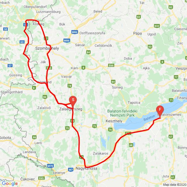20200808 Zalaegerszeg - Balatonlelle