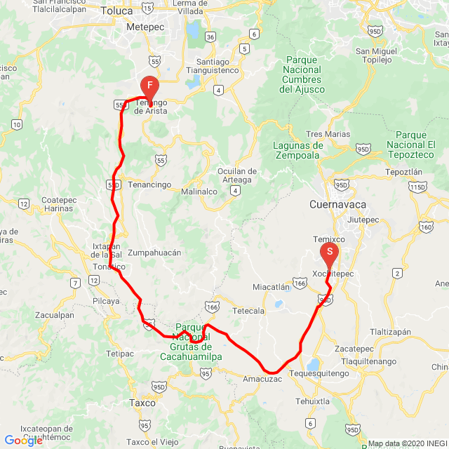 xochitepec, alpuyeca, puente de ixtla, michapa, tonatico, ixtapan, tenango del valle