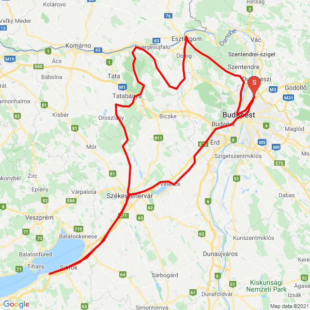 20210315 Bp-Esztergom-Szfvár-Zamárdi-Bp