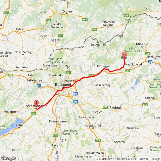 Fehérvár - Eger 2015.08.15