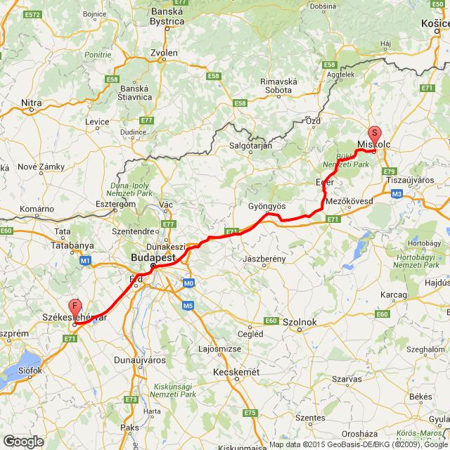 Miskolc -  Fehérvár 2015.08.16