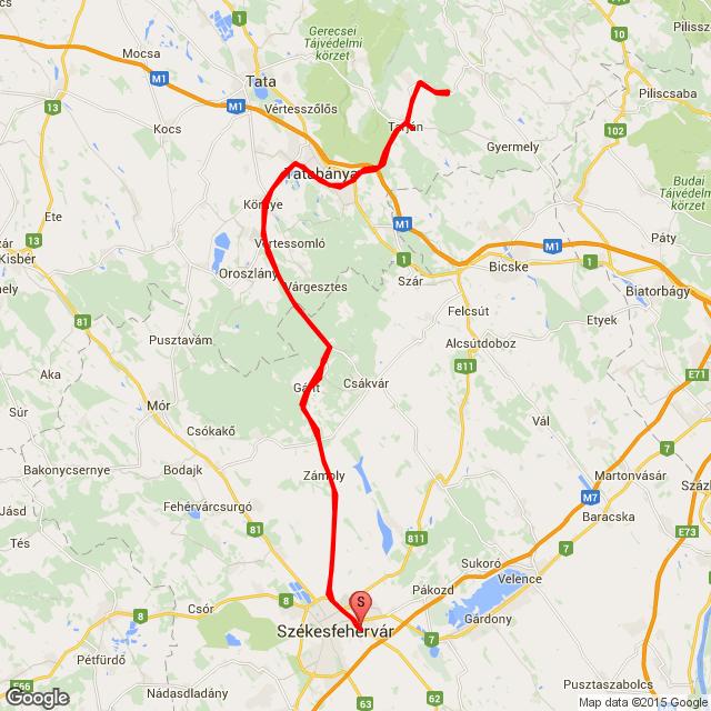 Fehérvár - Tarján 2015.08.23