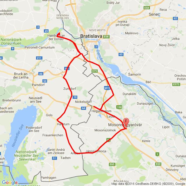 HAINBURG-BRAUNSBERG.