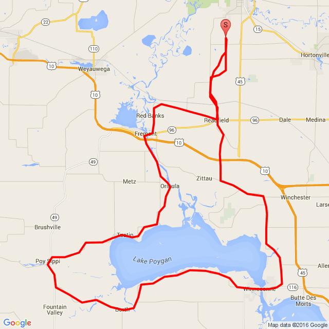 Lake Poygan loop
